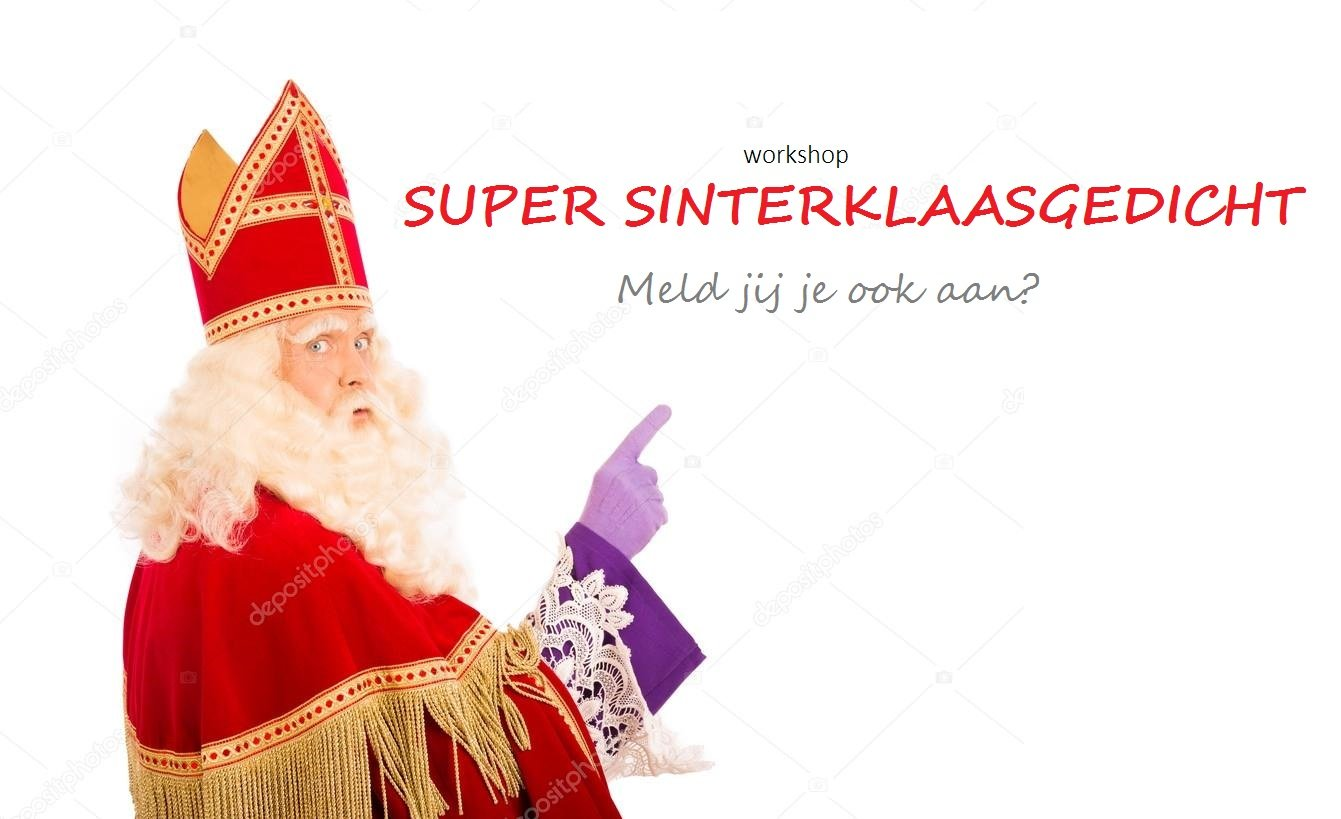 Workshop Super Sinterklaasgedicht